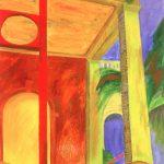 """Cuban Stairs II, 40"""" x 26"""""""