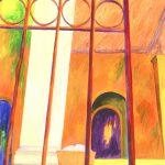 "Cuban Stairs III, 40"" x 26"", © 2013"
