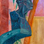 """Art Deco Marti, 30"""" x 22"""", © 2013"""