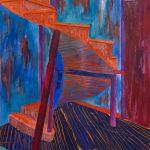 "Concordia Staircase, 30"" x 22"", © 2013"