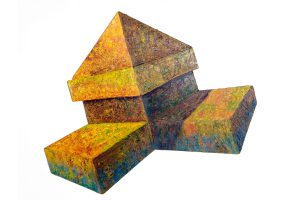 """Malacon Fragment, 36"""" x 42"""", Collection of Colleen Conley and Jack Love"""