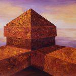 "Malacon Sunrise, 22"" x 30"", Collection Beverly Mortensen"